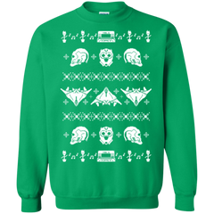 Sweatshirts Irish Green / Small Merry Christmas A-Holes 2 Crewneck Sweatshirt