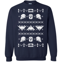 Sweatshirts Navy / Small Merry Christmas A-Holes 2 Crewneck Sweatshirt