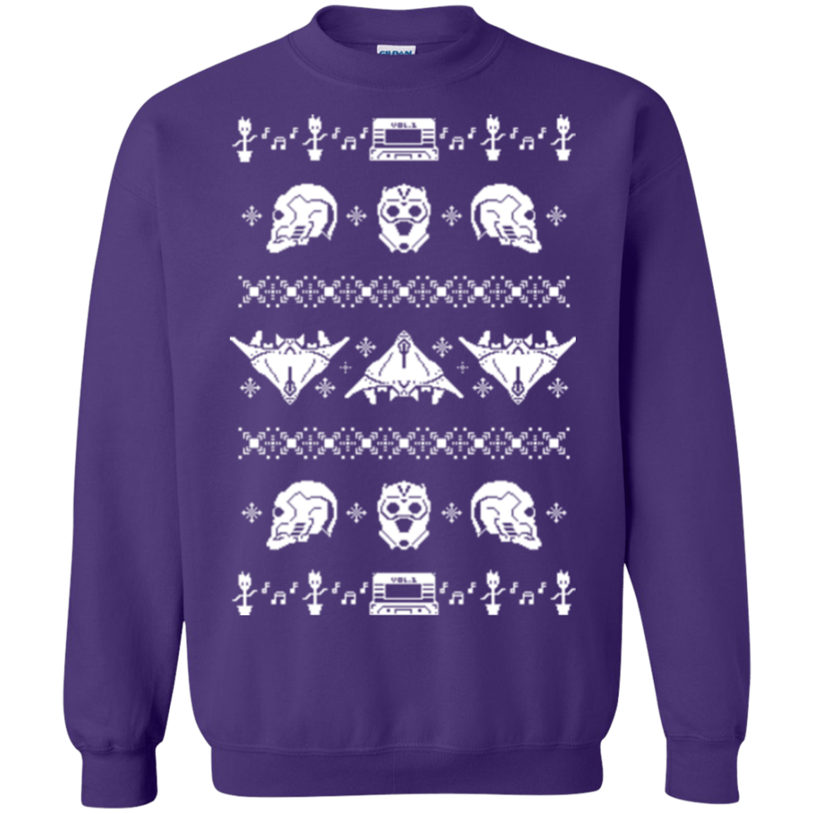 Sweatshirts Purple / Small Merry Christmas A-Holes 2 Crewneck Sweatshirt