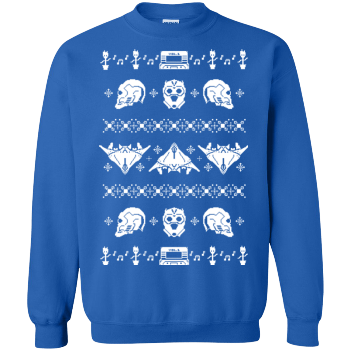 Sweatshirts Royal / Small Merry Christmas A-Holes 2 Crewneck Sweatshirt