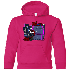Miles and Porker Youth Hoodie
