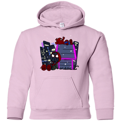 Sweatshirts Light Pink / YS Miles and Porker Youth Hoodie