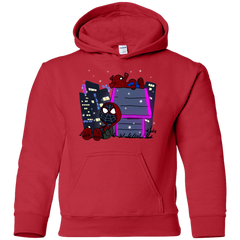 Sweatshirts Red / YS Miles and Porker Youth Hoodie