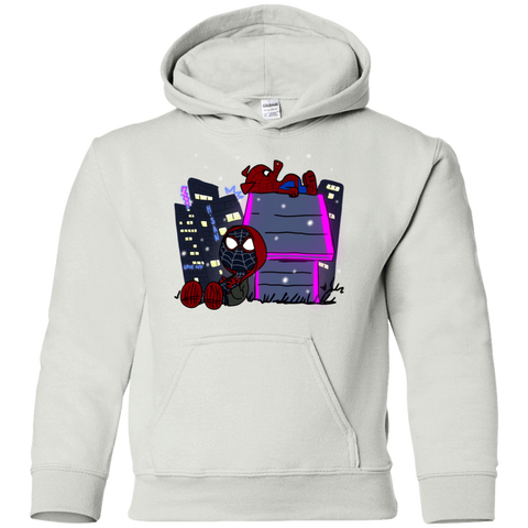 Sweatshirts White / YS Miles and Porker Youth Hoodie