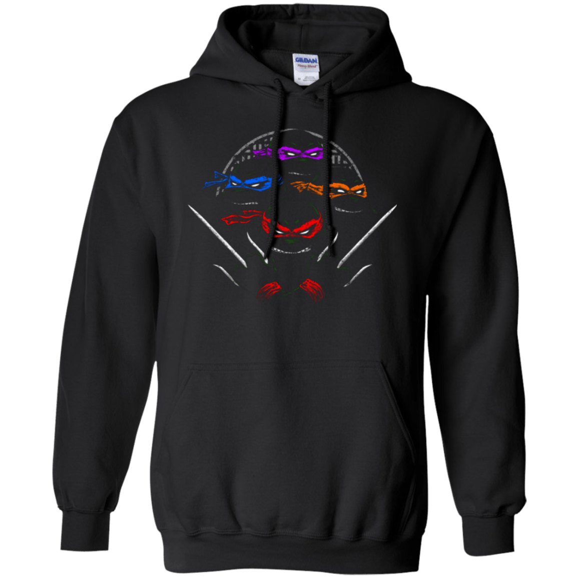Sweatshirts Black / Small Mutant Ninja Brothers Pullover Hoodie