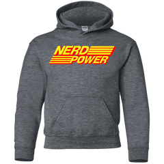 Nerd Power Youth Hoodie