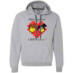 Sweatshirts Sport Grey / L Never LEGO of You Premium Fleece Hoodie