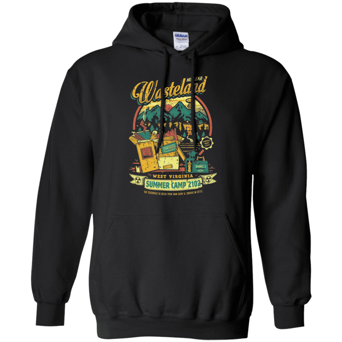 Nuclear Summer Camp Pullover Hoodie