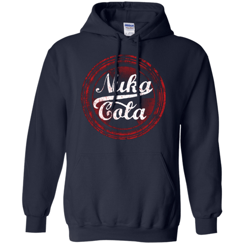 Sweatshirts Navy / Small Nuka Cola Pullover Hoodie