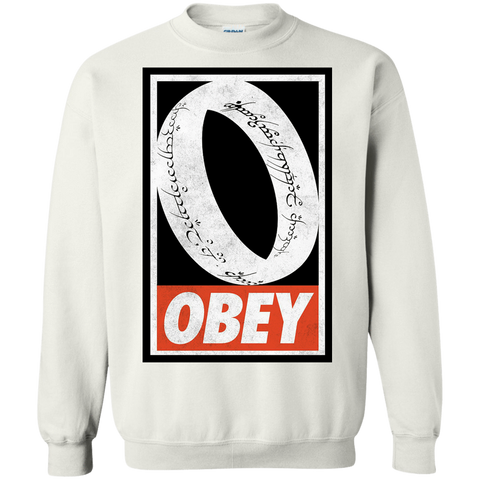 Obey One Ring Crewneck Sweatshirt