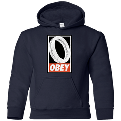 Obey One Ring Youth Hoodie