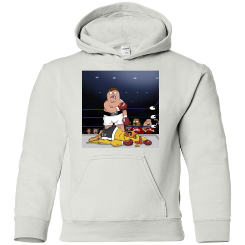 Peter vs Giant Chicken Youth Hoodie