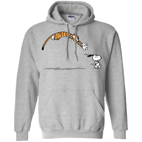 Sweatshirts Sport Grey / Small Pounce Pullover Hoodie