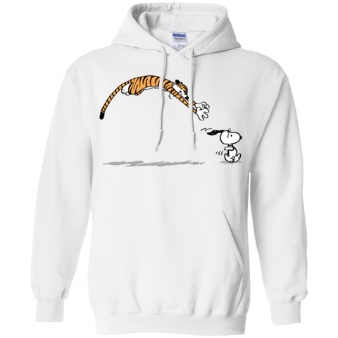 Sweatshirts White / Small Pounce Pullover Hoodie