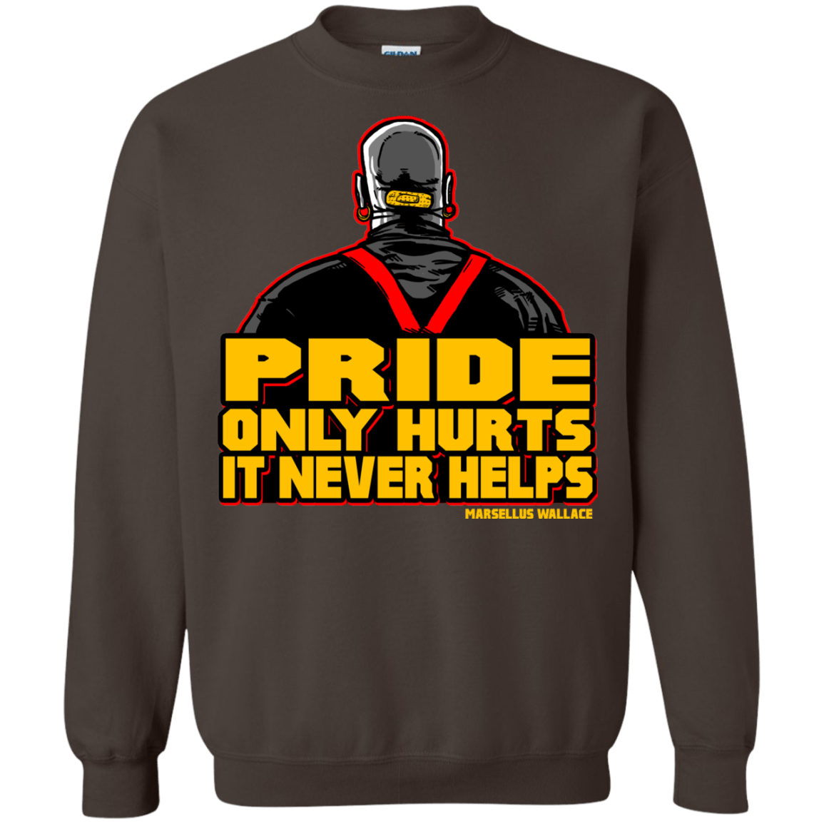 Sweatshirts Dark Chocolate / S Pride Crewneck Sweatshirt