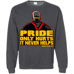 Sweatshirts Dark Heather / S Pride Crewneck Sweatshirt