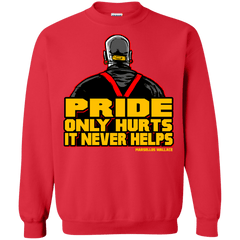 Sweatshirts Red / S Pride Crewneck Sweatshirt