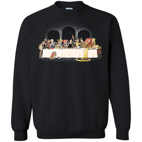 Princess Dinner (2) Crewneck Sweatshirt