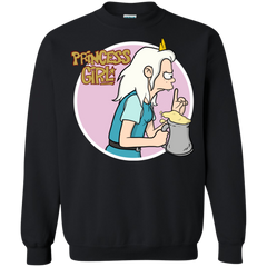 Princess Girl Crewneck Sweatshirt