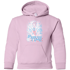 Sweatshirts Light Pink / YS Princess Time Mulan Youth Hoodie
