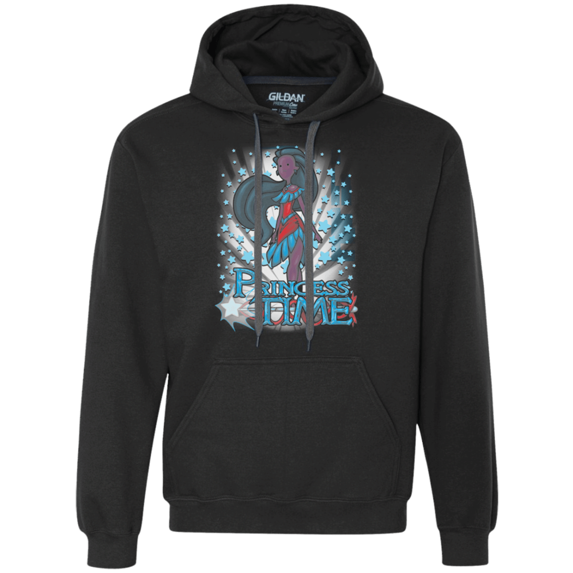 Sweatshirts Black / Small Princess Time Pocahontas Premium Fleece Hoodie