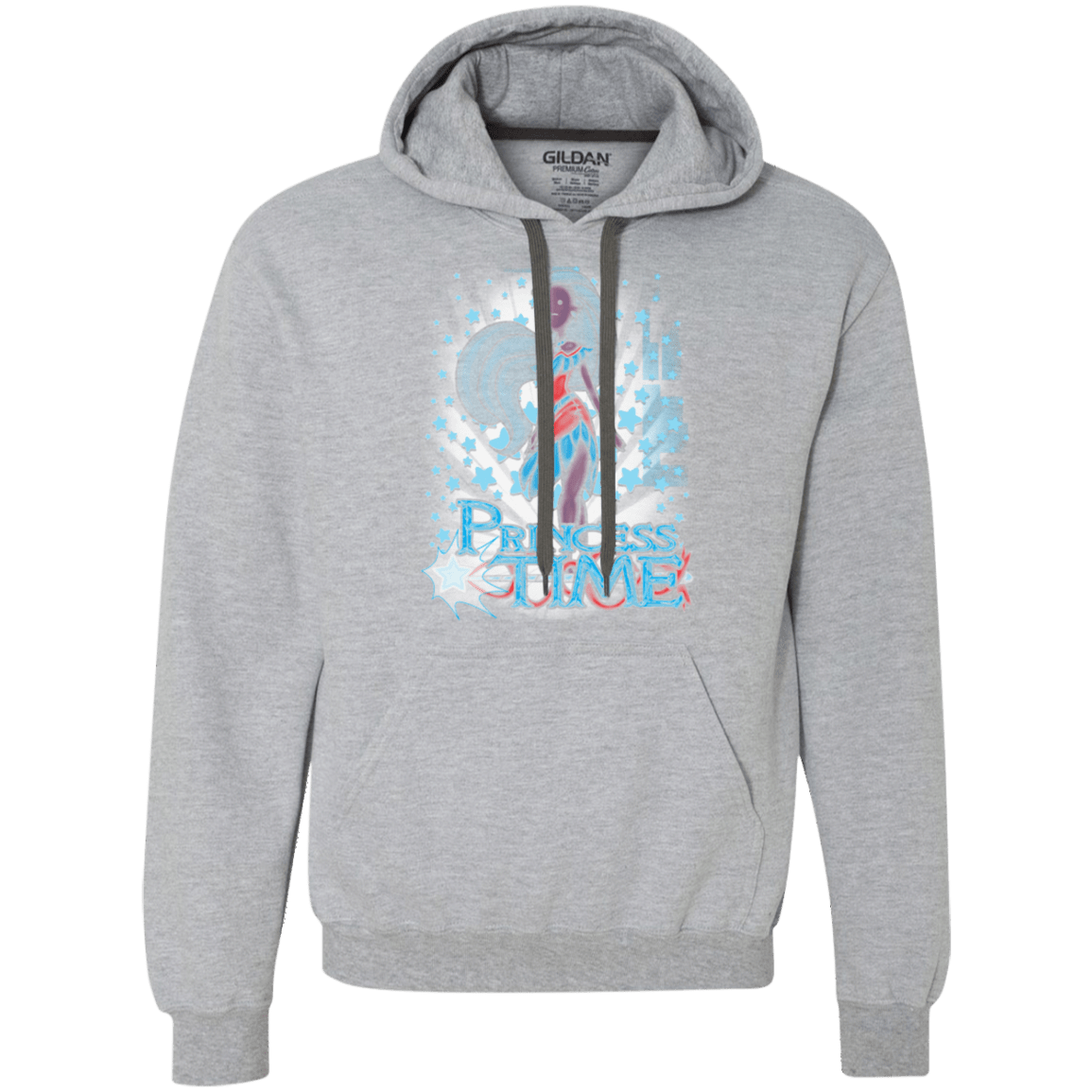 Sweatshirts Sport Grey / Small Princess Time Pocahontas Premium Fleece Hoodie