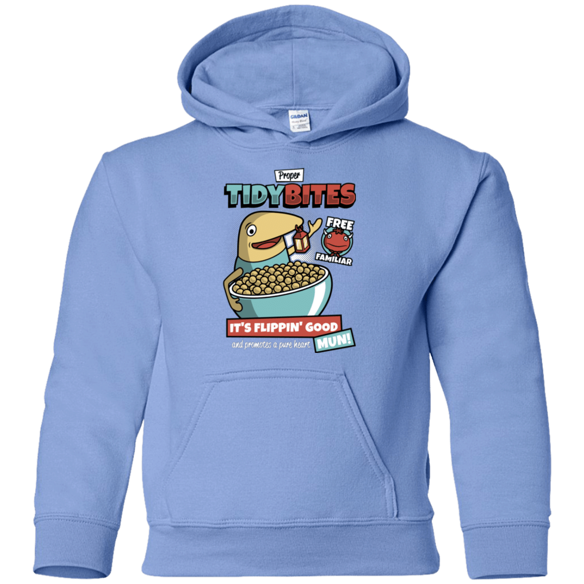 Sweatshirts Carolina Blue / YS PROPER TIDY BITES Youth Hoodie