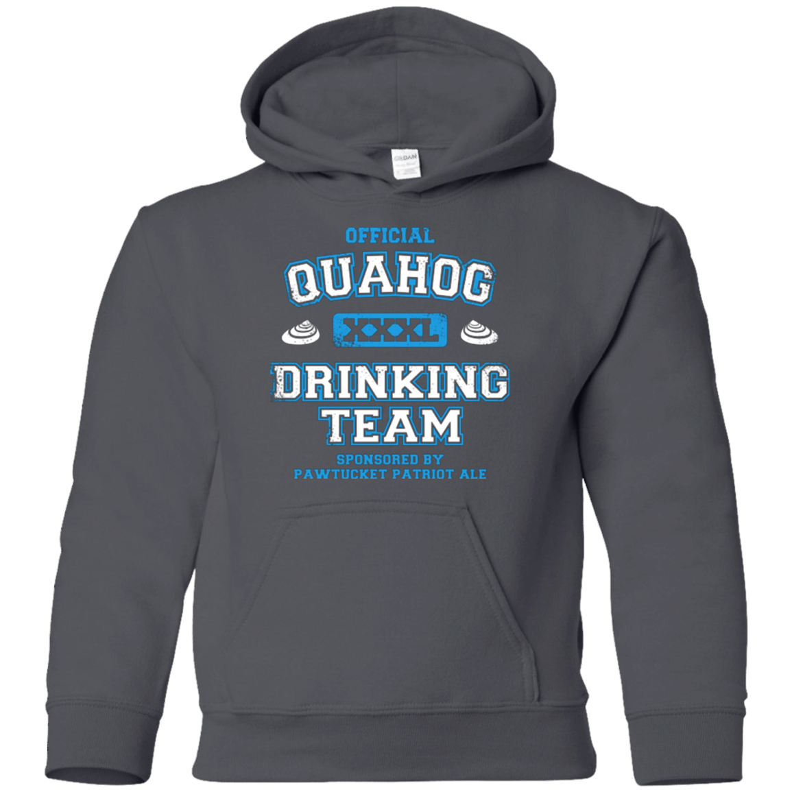 Sweatshirts Charcoal / YS Quahog Drinking Team Youth Hoodie