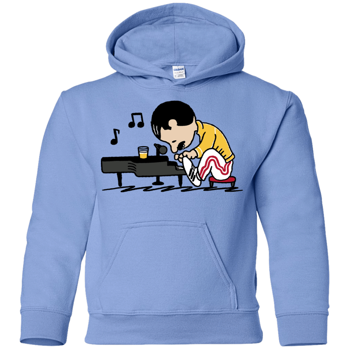 Sweatshirts Carolina Blue / YS Queenuts Youth Hoodie