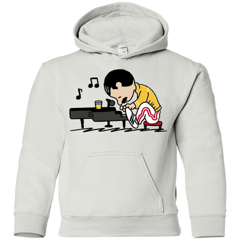 Sweatshirts White / YS Queenuts Youth Hoodie