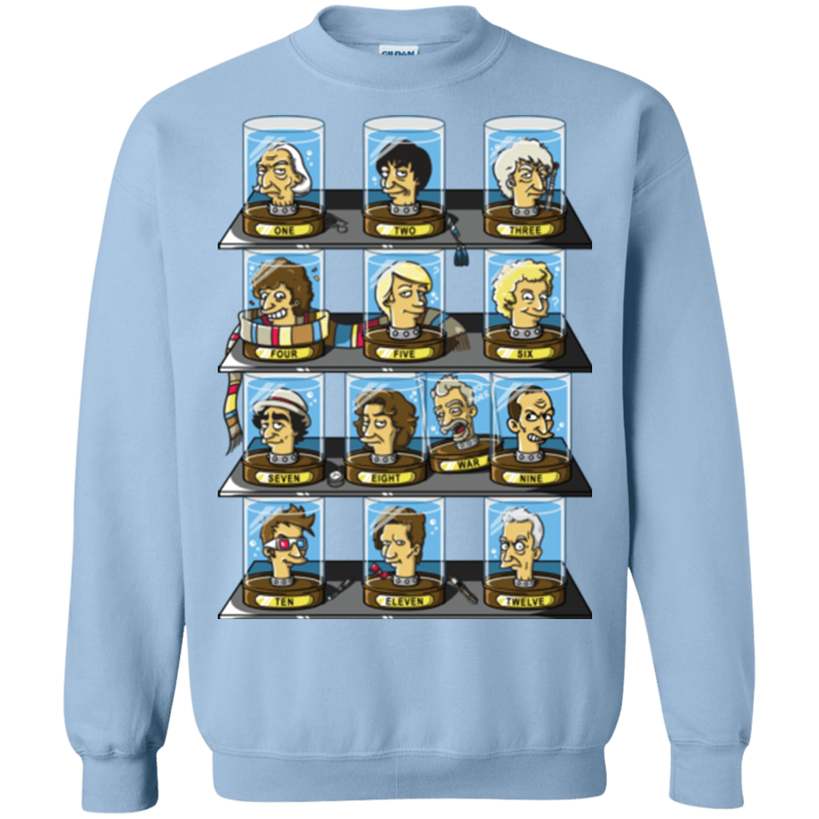 Sweatshirts Light Blue / Small Regen O Rama Crewneck Sweatshirt