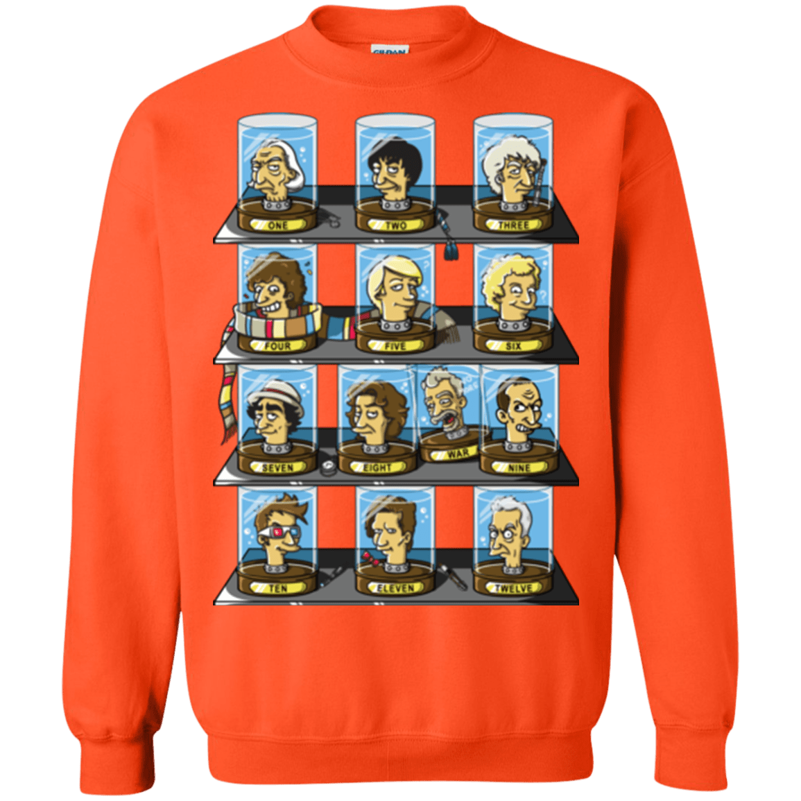 Sweatshirts Orange / Small Regen O Rama Crewneck Sweatshirt