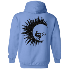 Riding Waves Back Print Pullover Hoodie