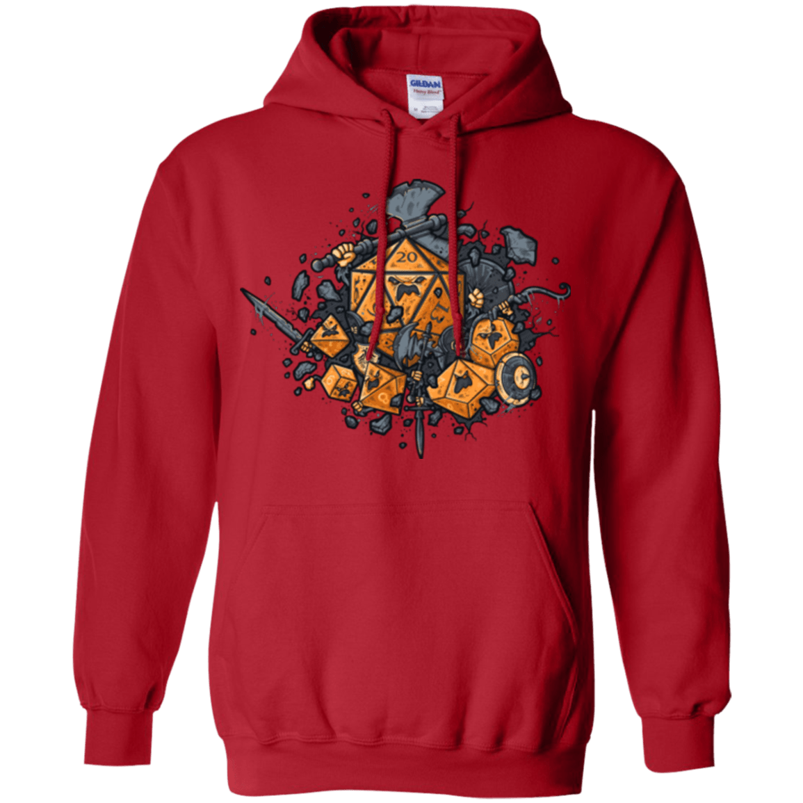 Sweatshirts Red / Small RPG UNITED Pullover Hoodie
