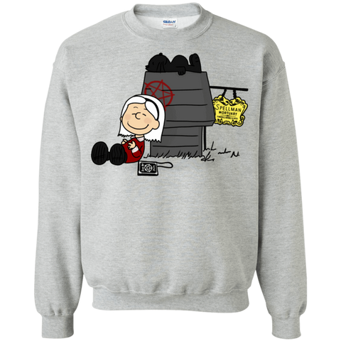 Sabrina Brown Crewneck Sweatshirt