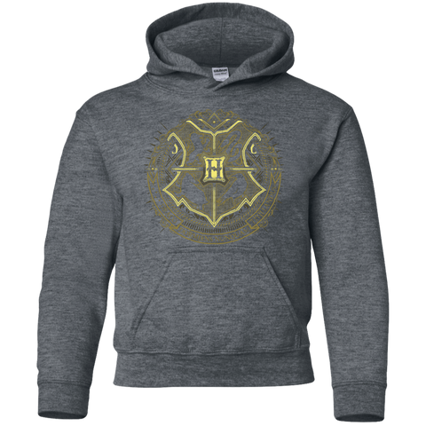 Sweatshirts Dark Heather / YS School of Magic Youth Hoodie