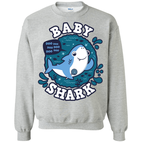 Shark Family trazo - Baby Boy Crewneck Sweatshirt