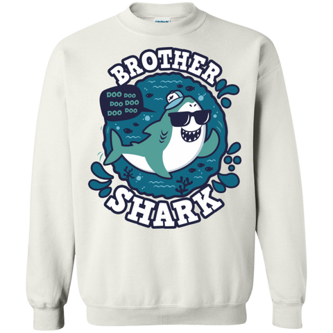 Shark Family trazo - Brother Crewneck Sweatshirt