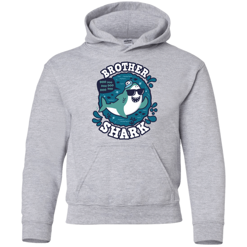 Shark Family trazo - Brother Youth Hoodie