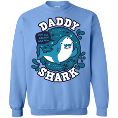 Shark Family trazo - Daddy Crewneck Sweatshirt