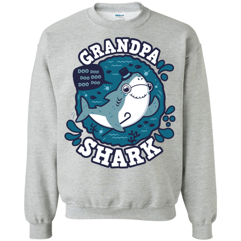 Shark Family trazo - Grandpa Crewneck Sweatshirt