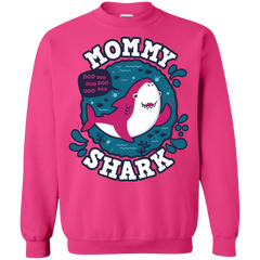 Shark Family trazo - Mommy Crewneck Sweatshirt