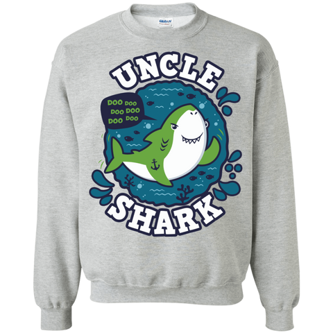 Shark Family trazo - Uncle Crewneck Sweatshirt