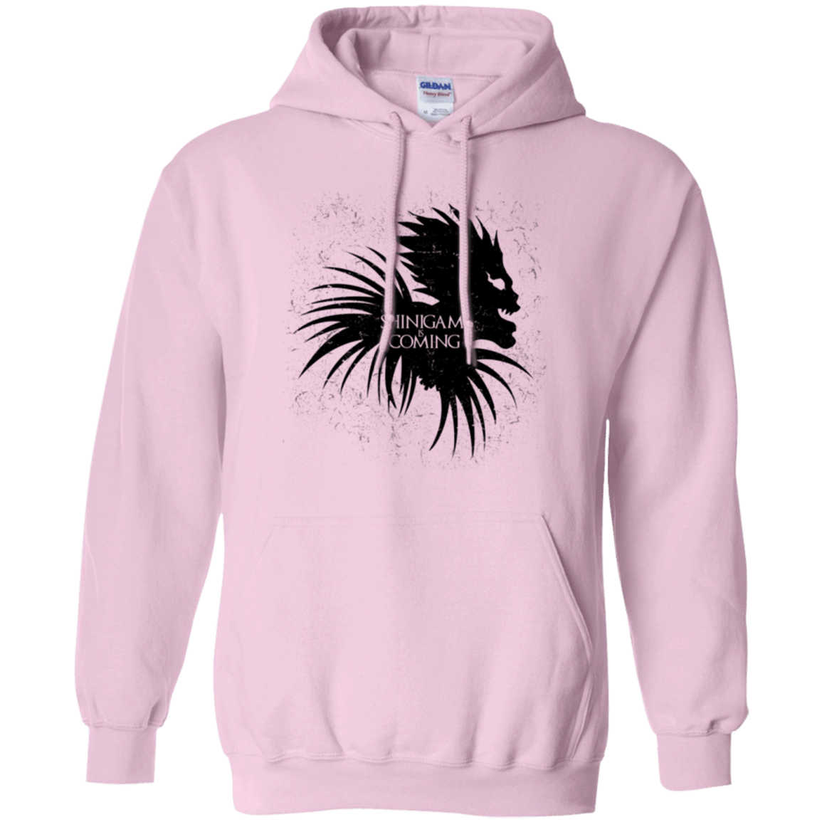Shinigami Is Coming Pullover Hoodie
