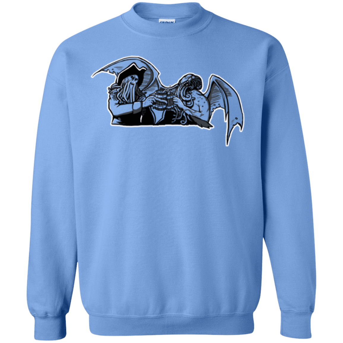 Sweatshirts Carolina Blue / Small Shiver Me Tentacles Crewneck Sweatshirt