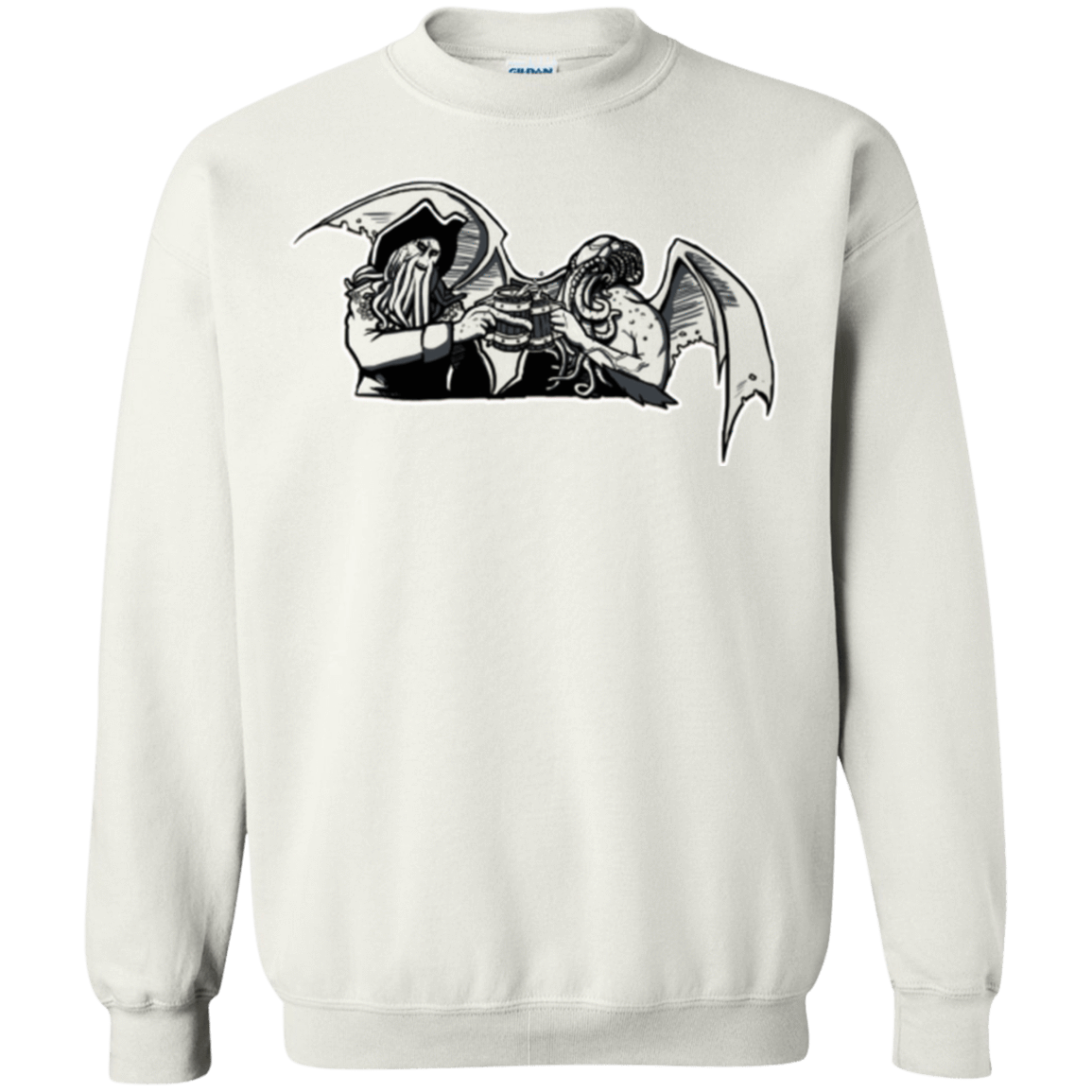 Sweatshirts White / Small Shiver Me Tentacles Crewneck Sweatshirt