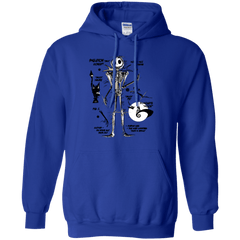 Sweatshirts Royal / Small Skeleton Concept Pullover Hoodie