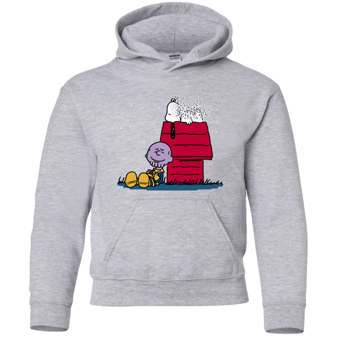 Sweatshirts Sport Grey / YS Snapy Youth Hoodie