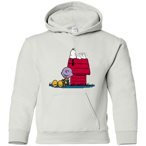 Sweatshirts White / YS Snapy Youth Hoodie