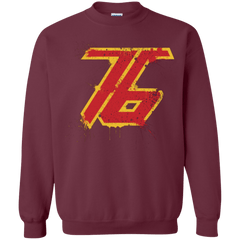 Sweatshirts Maroon / Small Soldier 76 Crewneck Sweatshirt